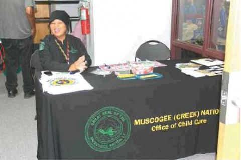 Muscogee Creek Nation Program Fair held