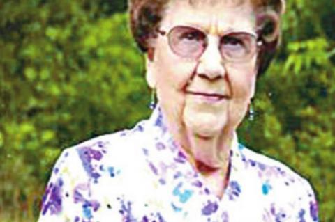 Service held for Ruth DeShields