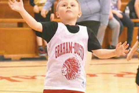 Graham-Dustin Little League vs Hanna