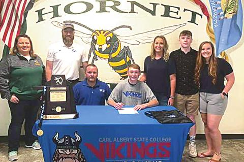 Zack Clark Signs with CASC Cross Country