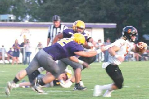 Weleetka scores six td's in 46-14 win